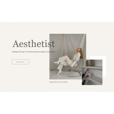 Aesthetist. Авторский курс по эстетичному визуалу в Instagram. Декабрь 2020. Мария Синицына
