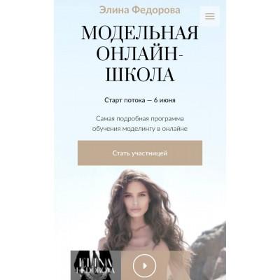 Модельная онлайн-школа .Элина Федорова